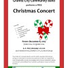 Christmas Concert on Friday December 8