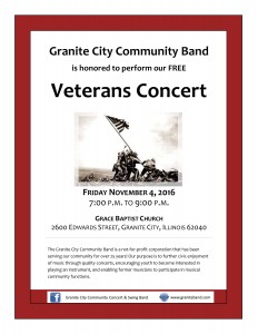 Veteran's Concert November 2016-1
