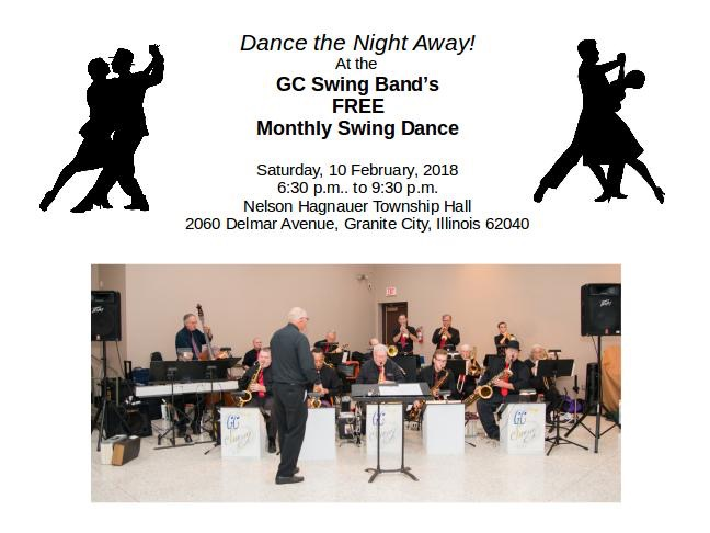 MONTHLY SWING BAND DANCE